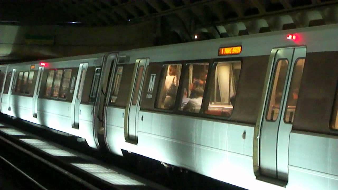 Wmata Metrorail Rush Service Action L Efant Plaza Gallary Place C Places Plaza Rush