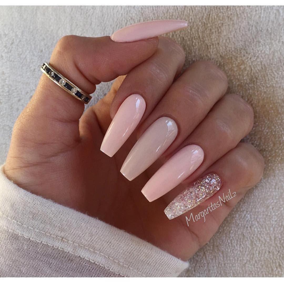 Imagem de nails and pink … | Pinteres…