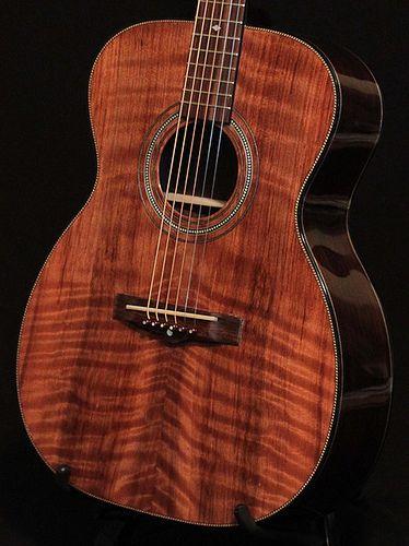 Lichty Guitars • Custom Indian Rosewood Om Guitar