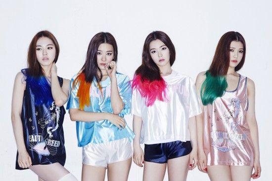 Red Velvet Rookie Kpop Girlband, sestavljen iz 4 članov-1323