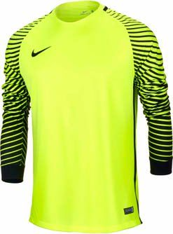 96487d7b51b Nike Gardien Goalkeeper Jersey – Volt/Black | Goalie Gloves and Gear ...