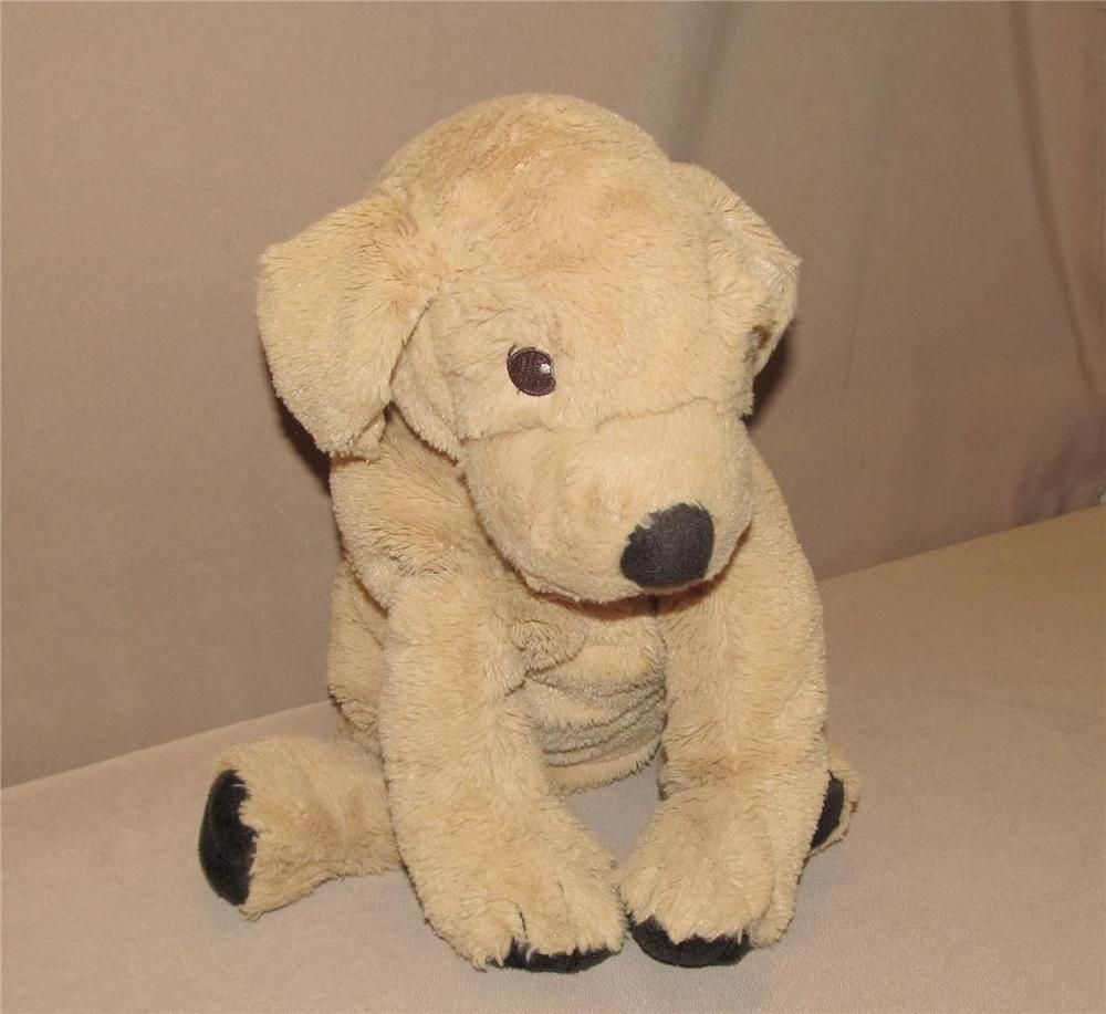 Ikea Tan Brown Golden Retriever Gosig Puppy Dog Plush Stuffed