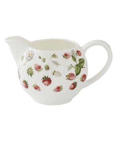 Another great find on #zulily! Strawberry Cream Jug #zulilyfinds