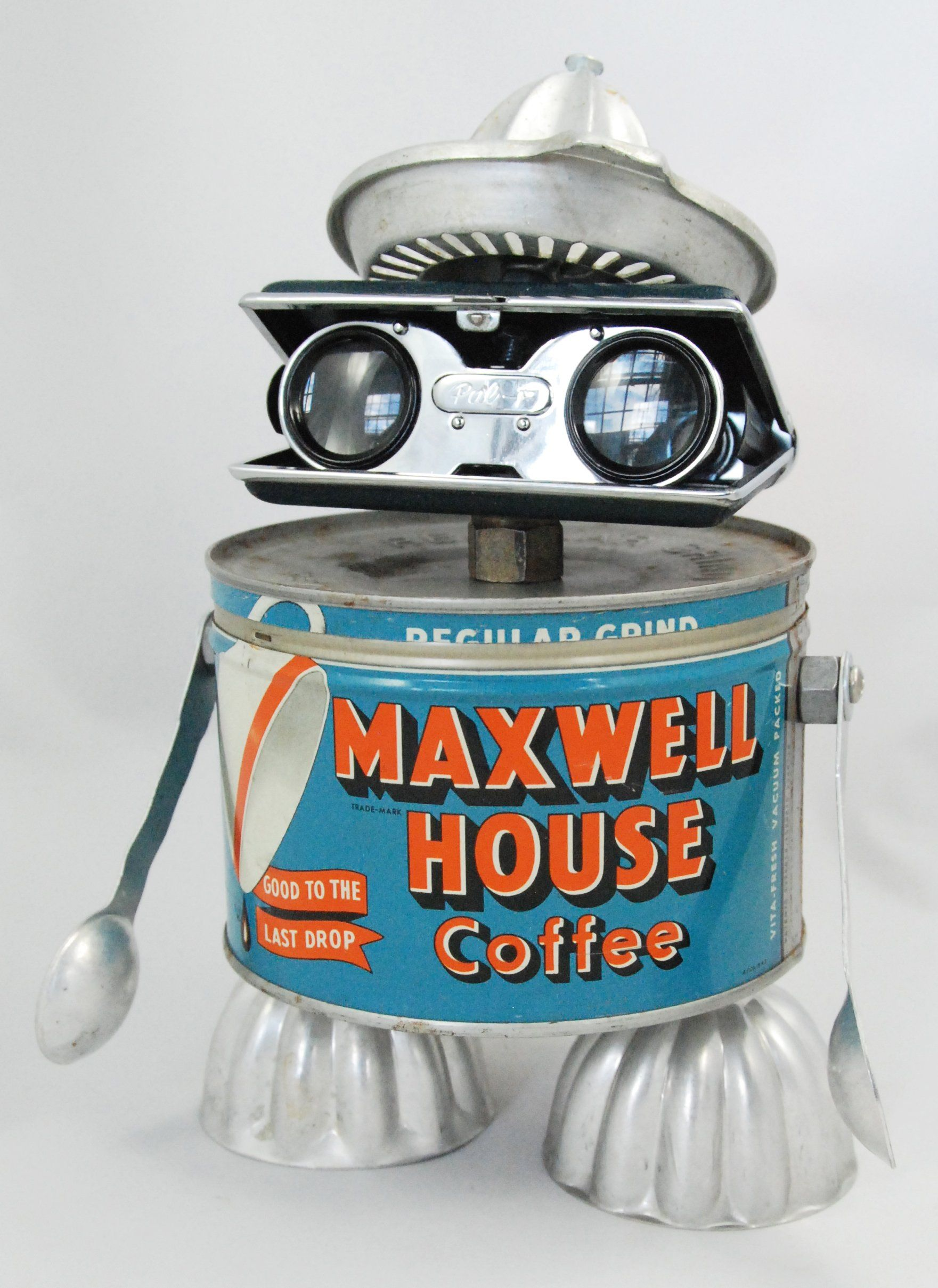 Myles Size 9 5 Inches Tall Medium Vintage Maxwell House Coffee Tin Vintage Opera Glasses Lemon Juicer Jell O Molds Vintage A Tin Can Art Maxwell House Coffee Bolts Washers