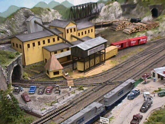 Some N Gauge Model Train Layouts