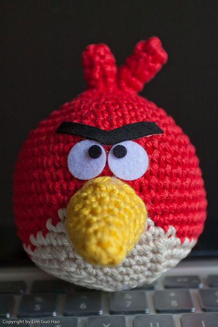 Angry Birds   Angry Birds   Pinterest   Häkeln
