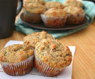 Recipe for low carb zucchini muffins
