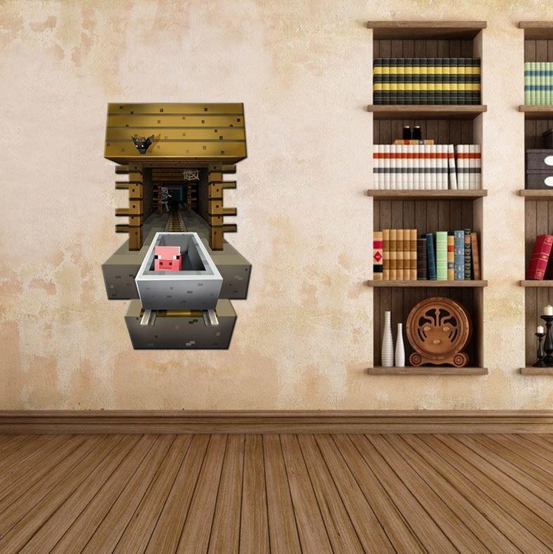Wall Sticker - Minecraft