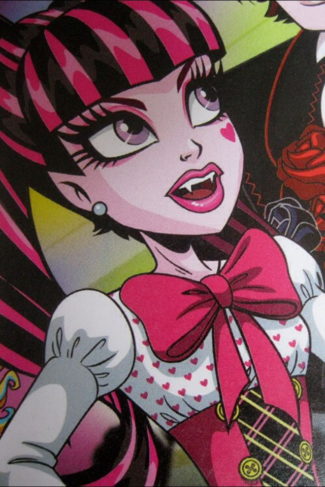 draculaura i only have eye for you  monster high art