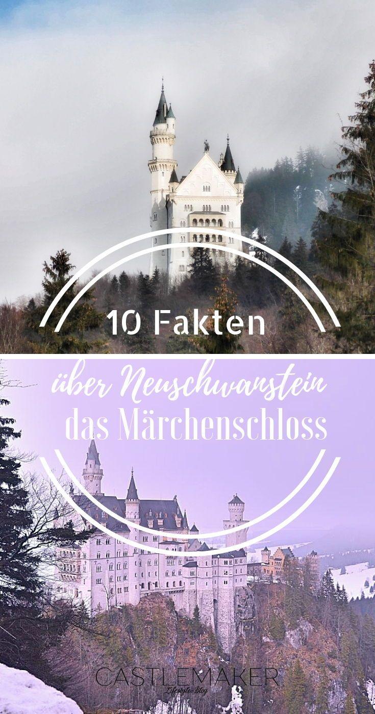 Das Beruhmte Marchenschloss Von Konig Ludwig Ii Ist Eine Der Top Sehenswurdigkeiten Deutsc Sehenswurdigkeiten Deutschland Schloss Neuschwanstein Neuschwanstein