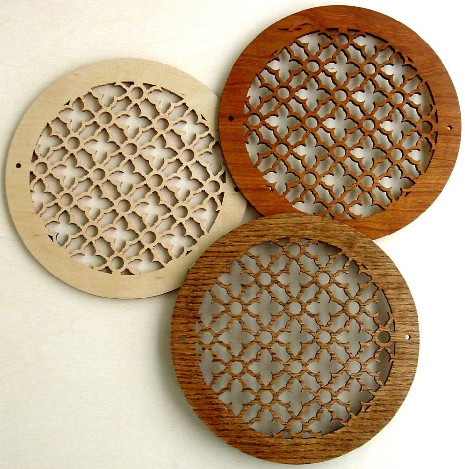 Decorative Round Vent Cover Grilles Wall Vent Covers