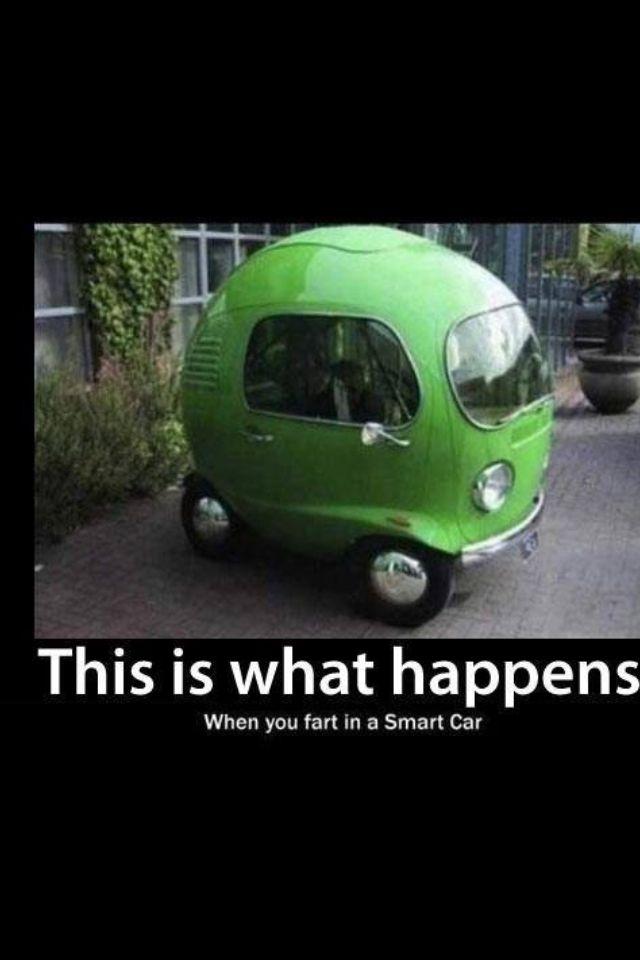 smart car fart made my day pinterest smart car and cars. Black Bedroom Furniture Sets. Home Design Ideas