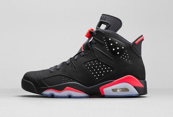 """4390f26faf6fb3 Air Jordan 6 Retro """"Black Infrared23″"""