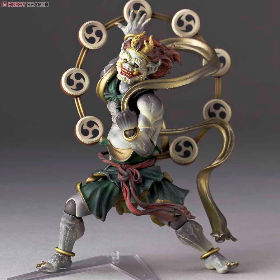 Gods as action figures:  Revoltech Takeya Raijin Series No.010
