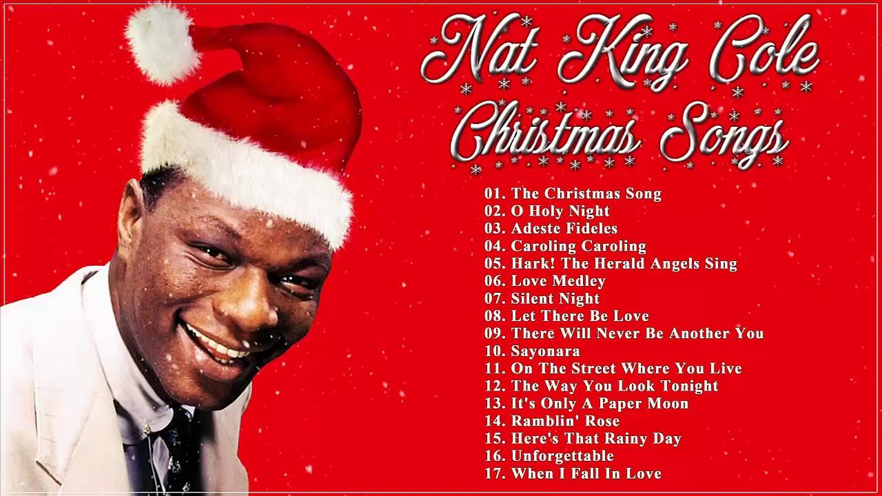 Nat King Cole Christmas Songs Playlist ☃ Nat King Cole Christmas Album ... | Musica navidena ...