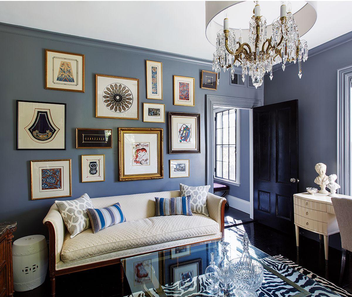 Blue Victorian Bedroom jamaica plain no more: a victorian home makeover | home, victorian