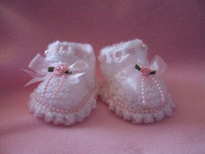 Tlc Home Free Baby Mary Jane Booties Knitting Patterns Things I