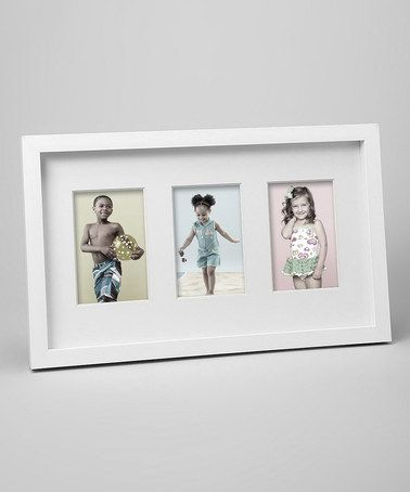 Bp Industries White 17 X 10 Horizontal Three Photo Gallery Frame On Zulily Gallery Frame Frame Photo Galleries