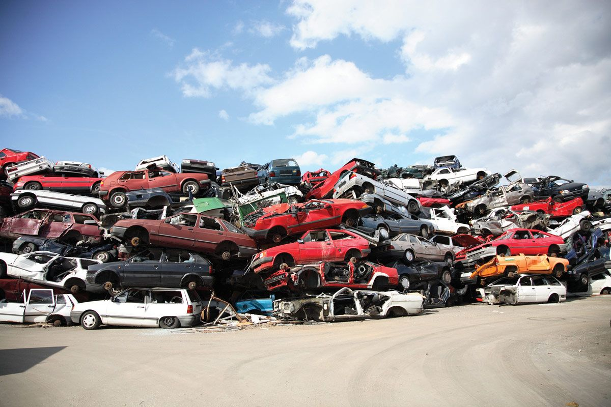 Car dump. | Metal Recycling Dump | Pinterest