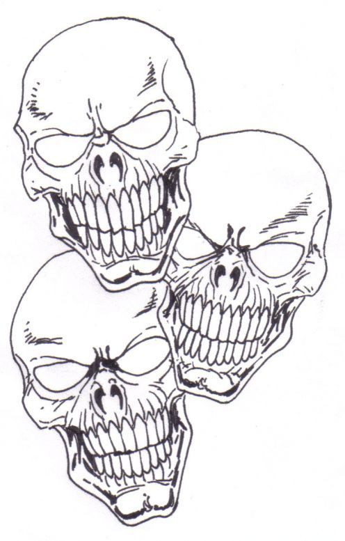 how to draw a skull tattoo skull drawings drawings and