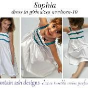 Sophia dress girls special occasion - via @Craftsy