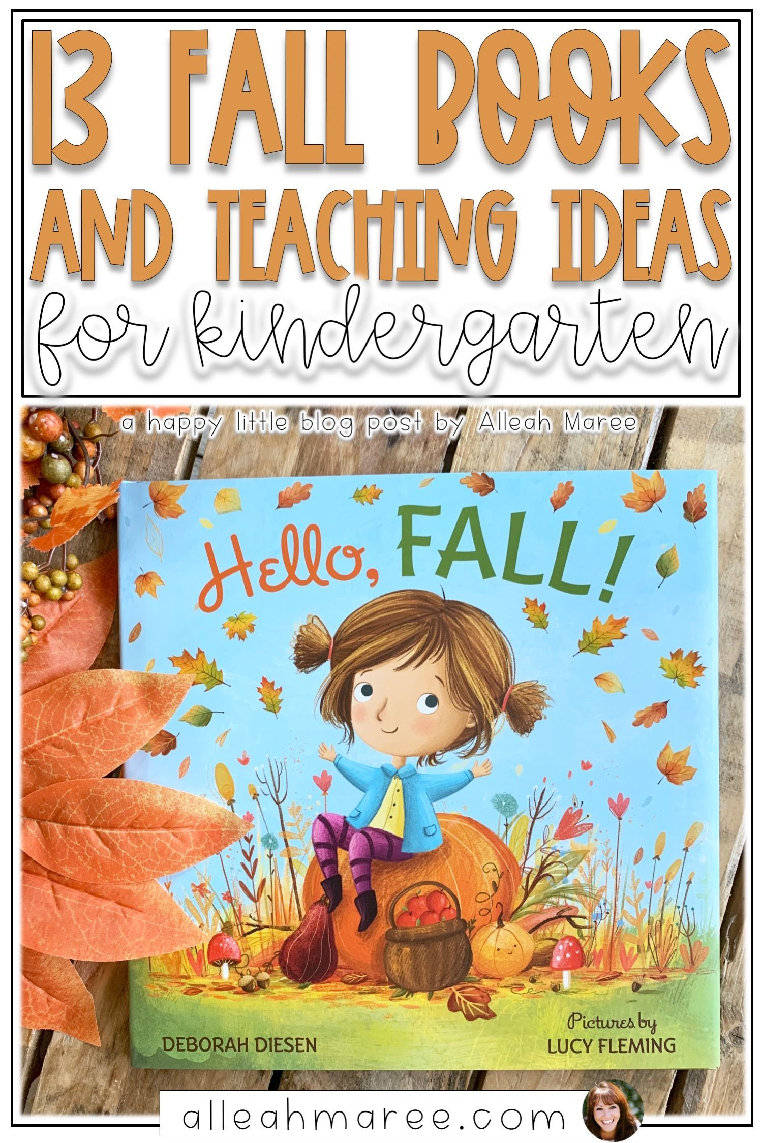 13 Fall Books with Teaching Ideas for Kindergarten — Alleah Maree