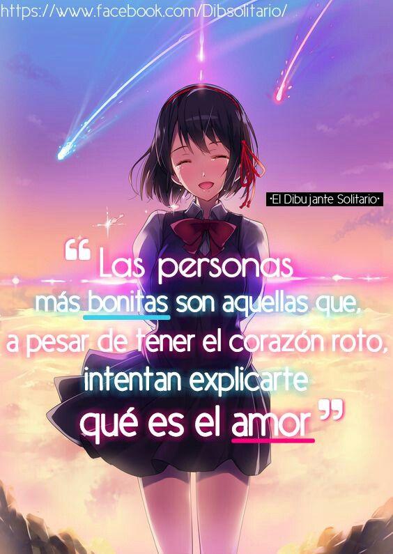 Frases Dibsol Anime Bonito Pinterest Anime Amor Y Frases
