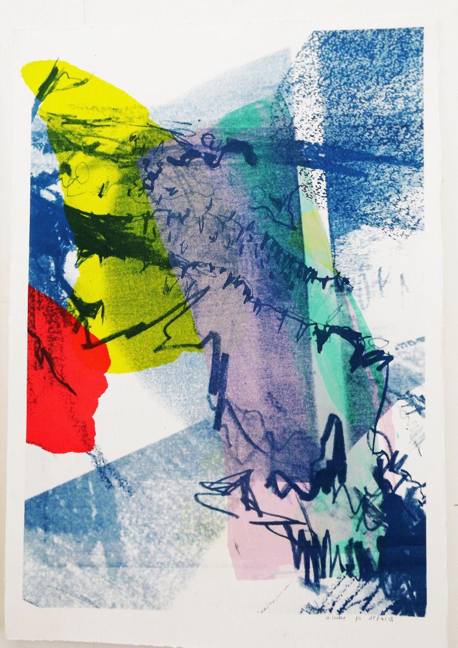 SIlk-Screen Prints// April '13 - Hannah Victoria Locker