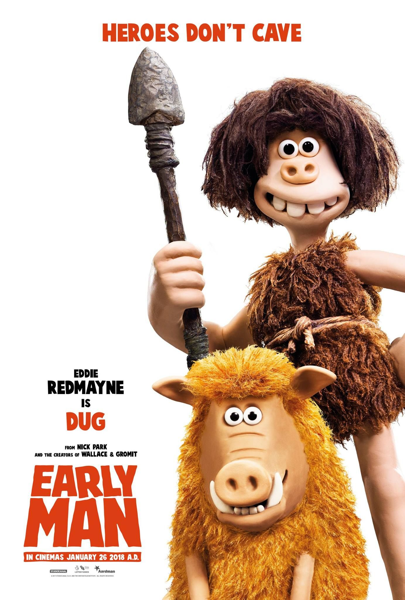 Early Man New Film Posters Https Teaser Trailer Com Movie Early Man Earlyman Earlymanmovie Movieposters Man Movies Aardman Animations Man