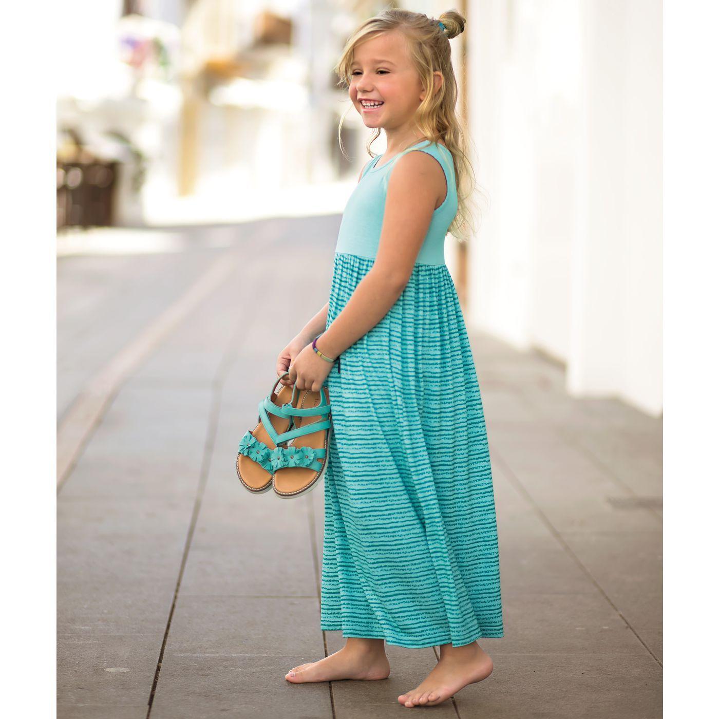 Mädchen-Kleid lang online bestellen - JAKO-O | Rock ...