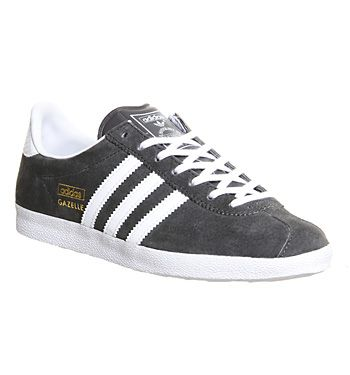 purchase cheap abcac 1f93c Adidas Gazelle Og W Ash White Metallic Gold - Hers trainers