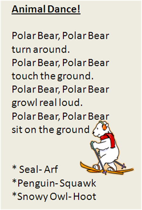 Polar Animal Movement Song. My One And Two Year Olds LOVE