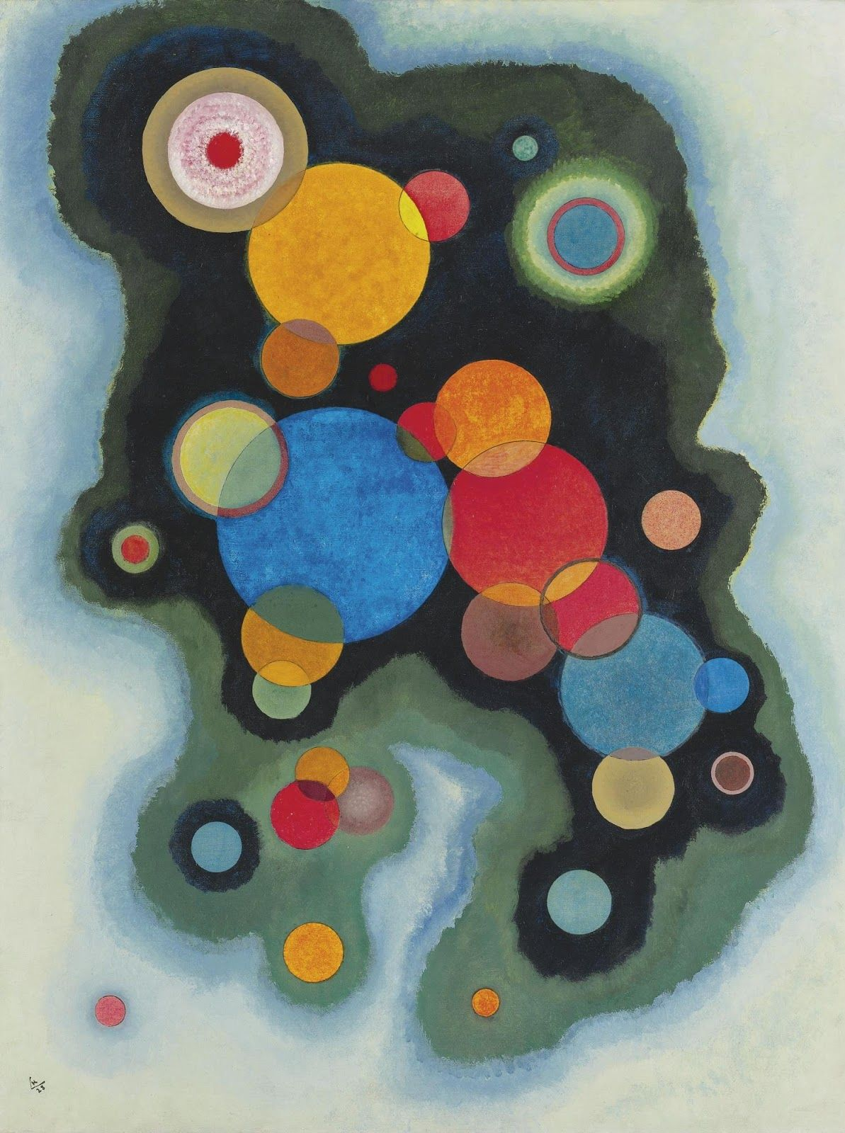 The creator of the first modern abstract paintings, Wassily Kandinsky Василий Кандинский was an influential Russian painter and art theorist.