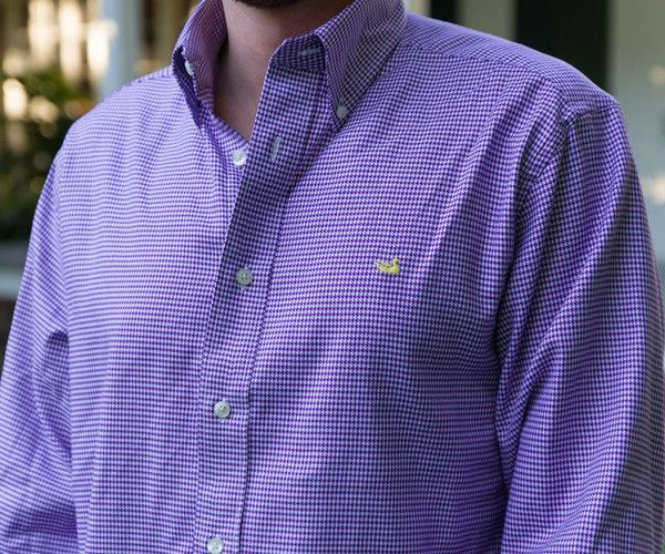 Southern Marsh Collection — The Mackenzie Houndstooth from Southern Marsh - Collegiate - LSU
