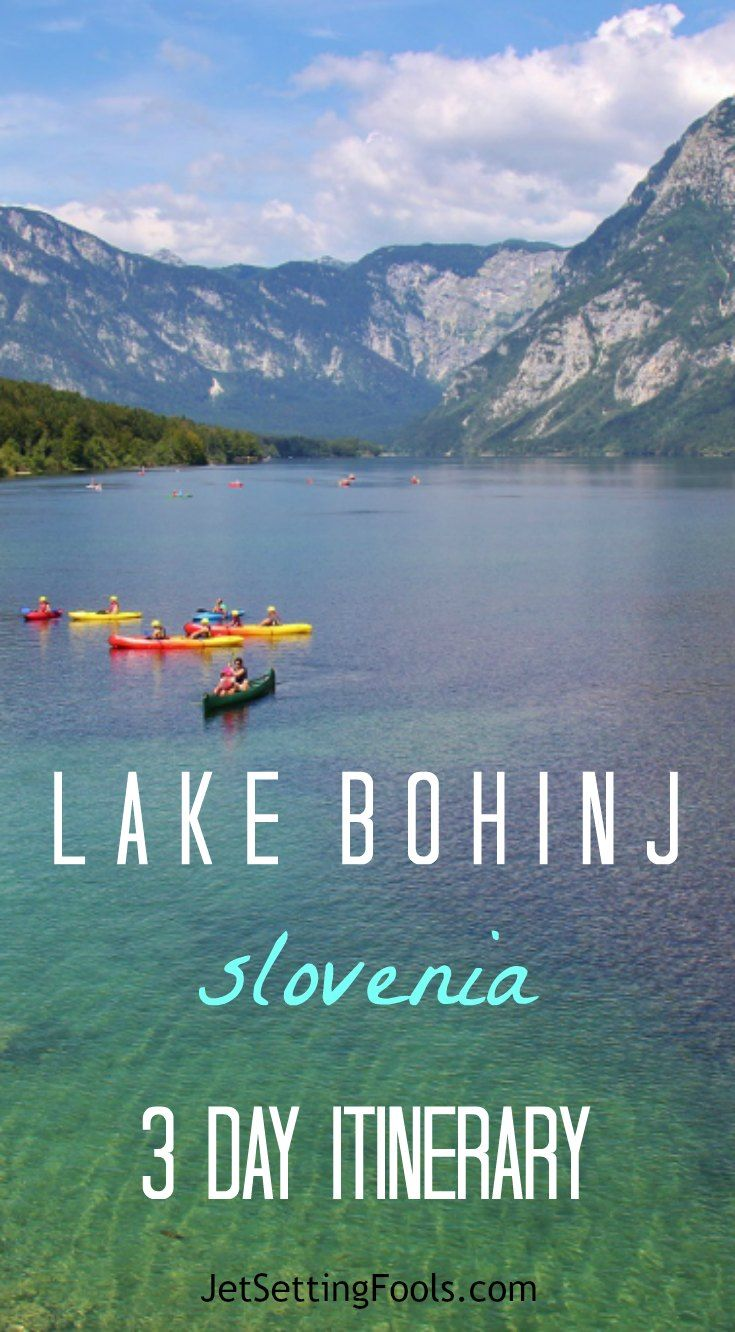 On Our Lake Bohinj, Slovenia Itinerary, We Explore The Natural Landscapes  Around The Lake With Numerous Hikes, A Cable Car Ride And A Train Excursion.