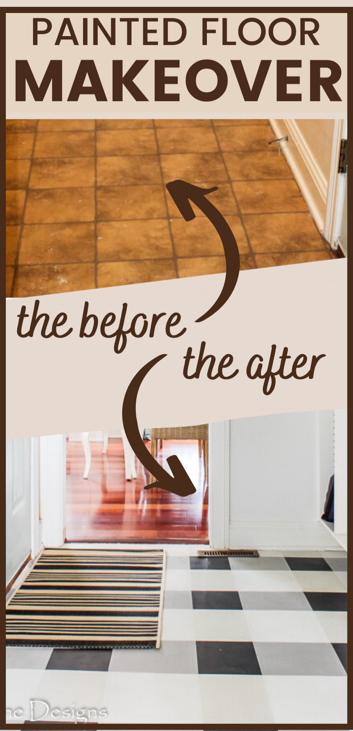 How to paint your outdated vinyl floors to give your room an easy and affordable makeover. I'll show you how to paint your floors so they are durable and long lasting.