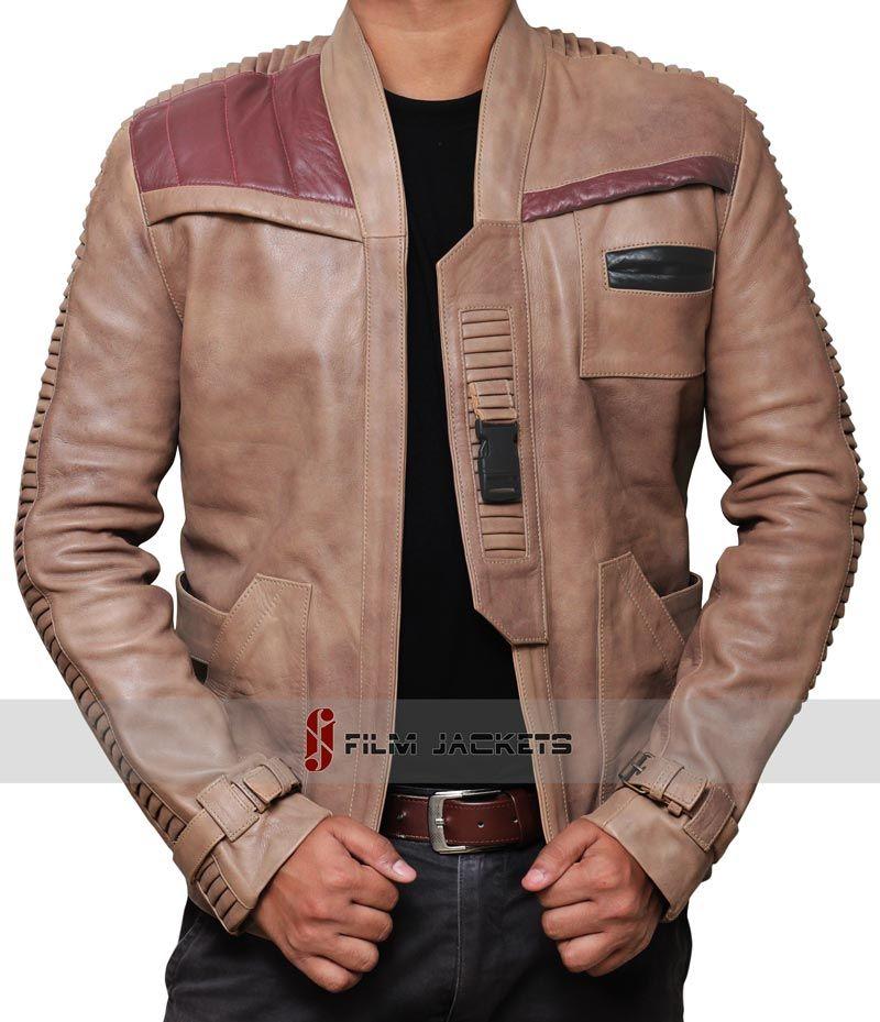 Star Wars Finn Jacket | Star wars jacket, Leather jacket men