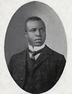 SCOTT JOPLIN (1867-1917) American pianist and composer and the innovator of ragtime music.