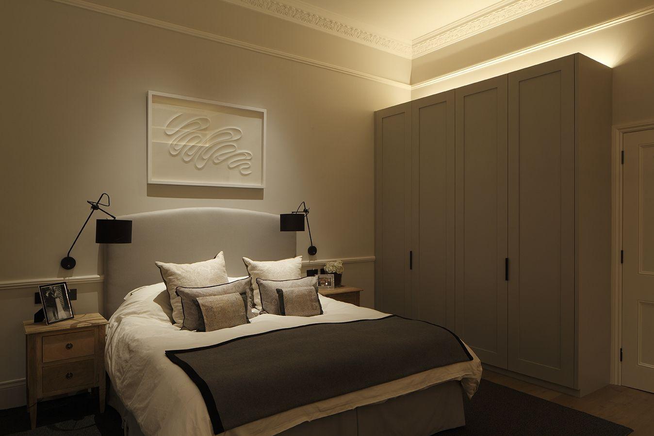 Contemporary Bedroom Lighting By John Cullen