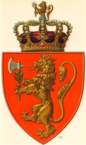 Coat Of Arms Of Norway Norway Coat Of Arms Sons Of Norway