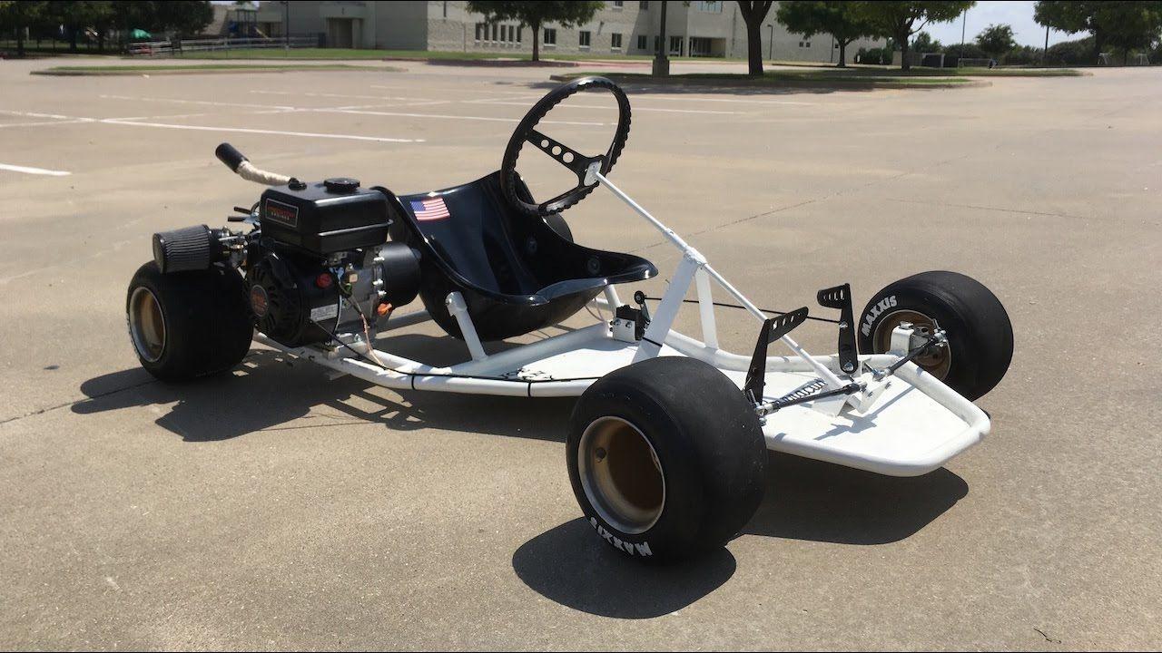 Homemade Racing Go Kart (Shifter Kart Frame) Build | FSAE ...
