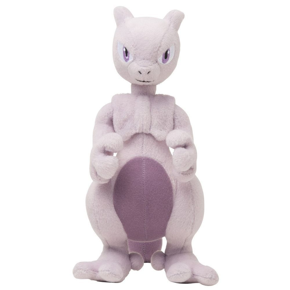 Pokemon Center Plush Doll Mewtu Mewtwo 뮤츠 shopper plastic bag With gifts #PokemonCenter