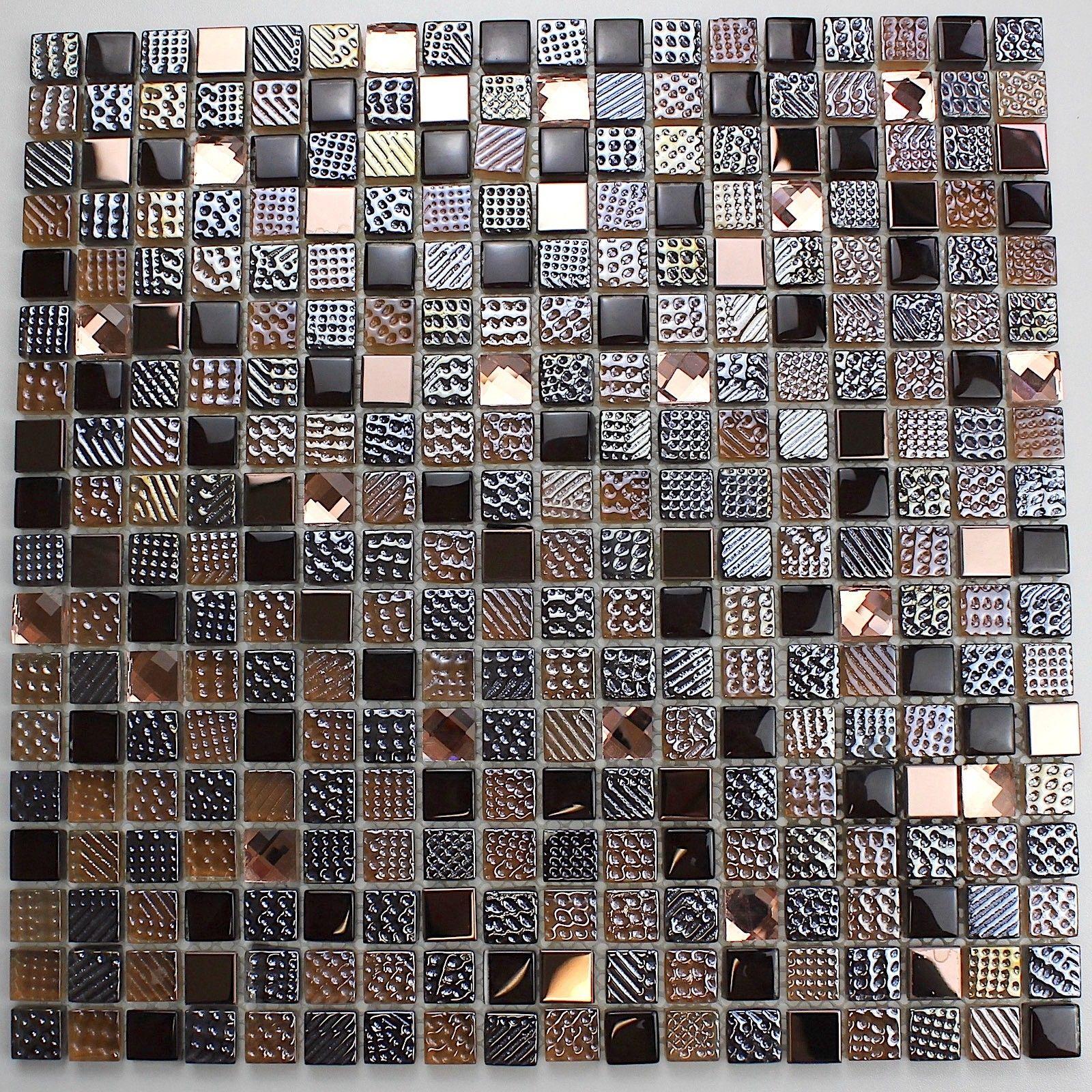 Mosaique En Verre Pour Douche Et Salle De Bain Mv Inesse Carrelage Mosaique Mosaique Salle De Bain Carrelage Mosaique Mosaique Douche