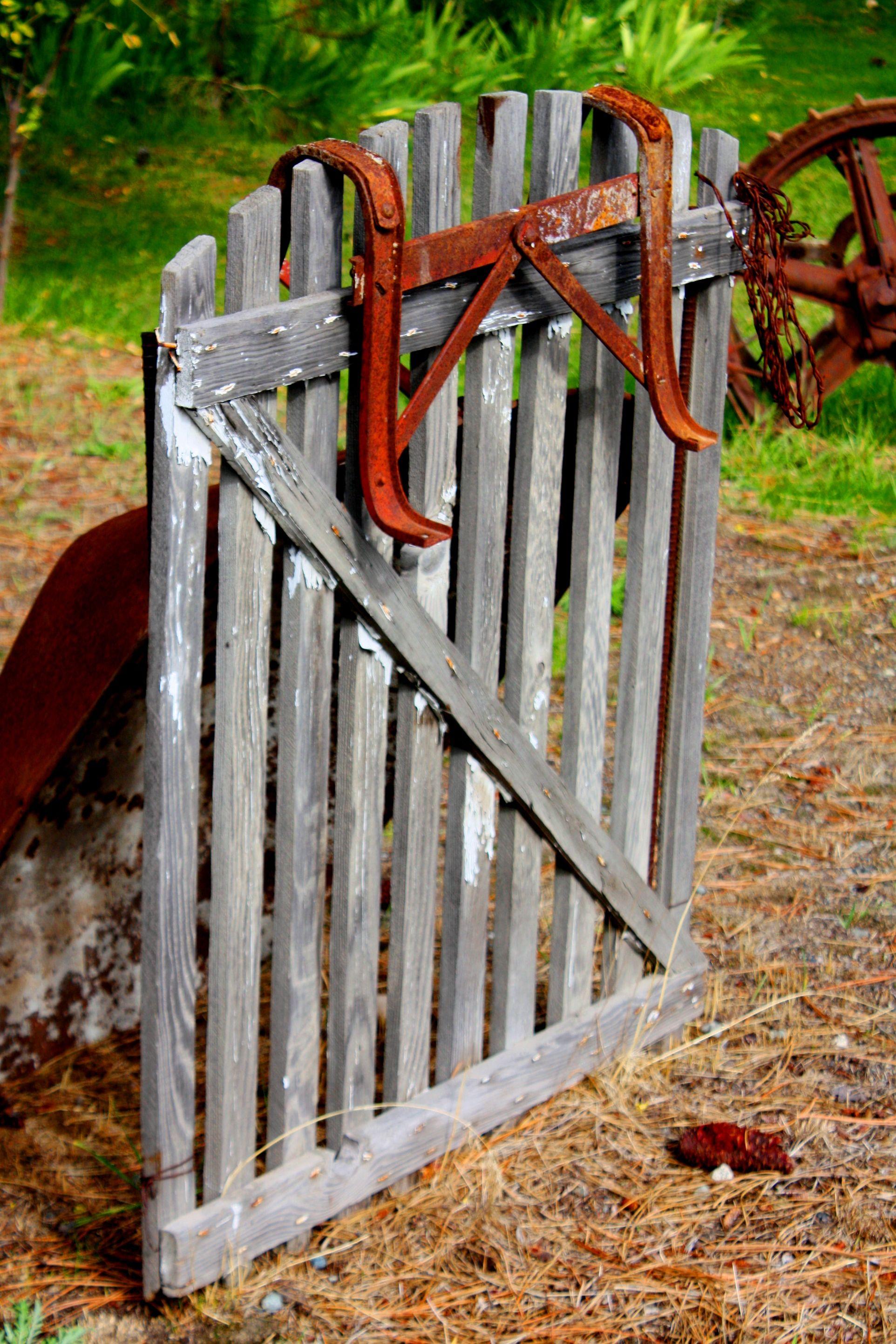 Rustic gate by Sherrie Corrington | Garden gates, Gate ...