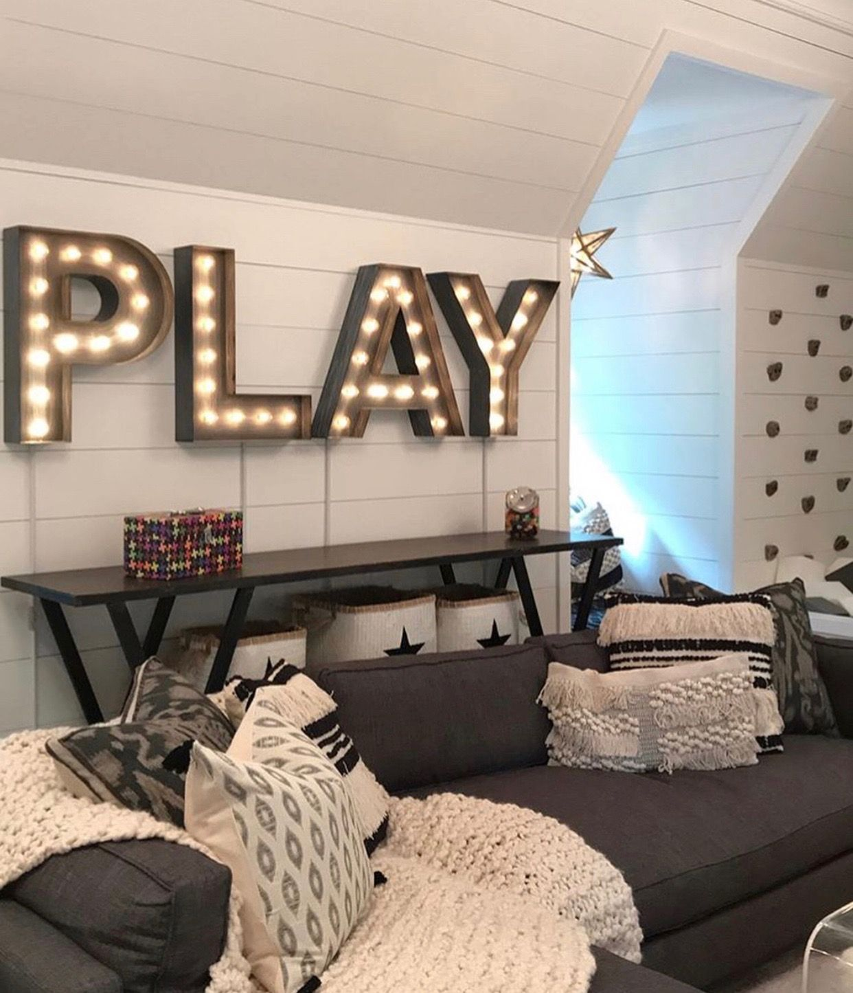 Pin By Brittney On The House Toy Room Decor Game Room