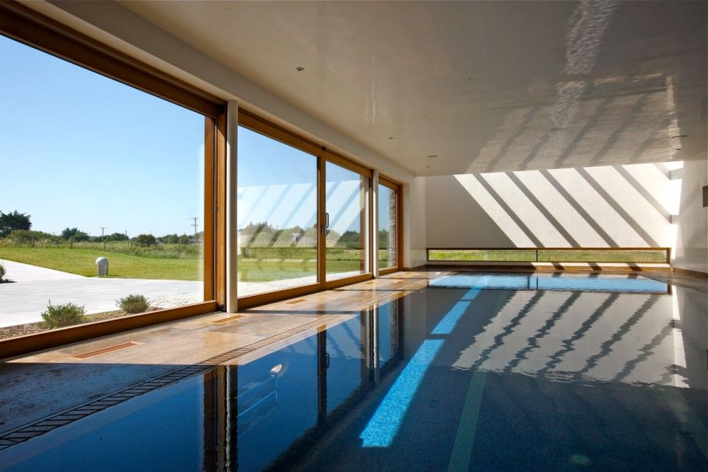 Gallery Of Longacres House Damien Murtagh 1 Architect Show Home Backyard Pool