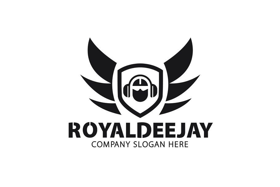 Royal Dj Logo Dj Logo Logo Templates Event Logo