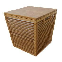 Bamboo Storage Stool
