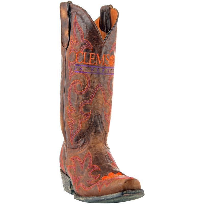 d9503fcc013d6f Gameday Auburn Tigers Ladies Cowboy Boots