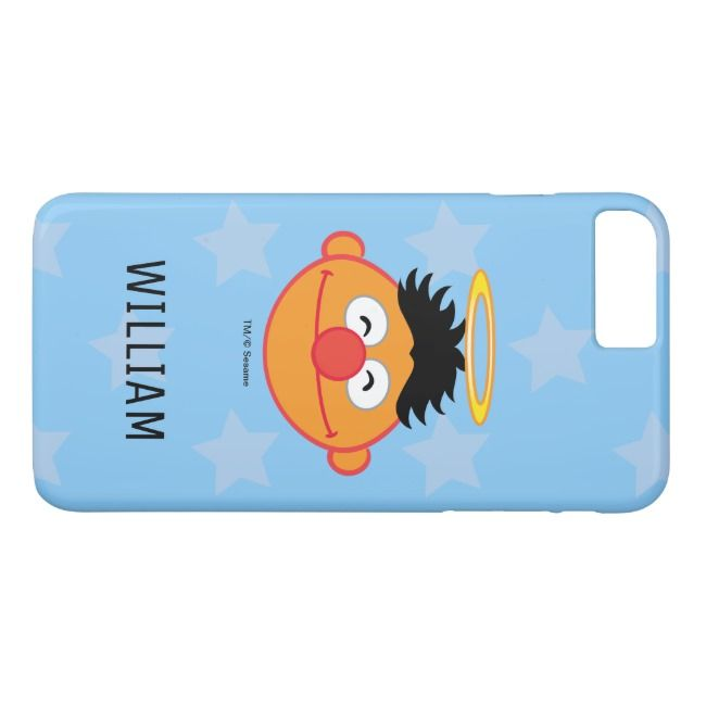 Ernie Smiling Face with Halo | Add Your Name Case-Mate iPhone Case |  Ernie Smiling Face with Halo Add Your Name Case-Mate iPhone Case ,